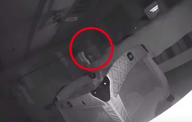 Ghost captured on baby camera