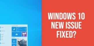 windows 10 issues and fixes