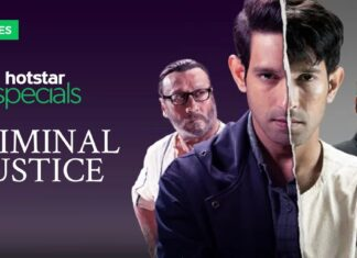 criminal justice hotstar watch free