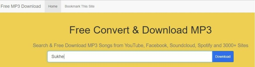 Free convert and download mp3