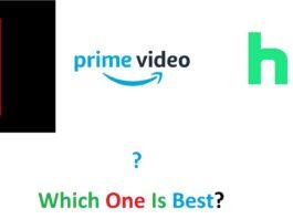 Netflix, Hulu, and Prime Video