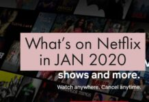Whats on netflix in 2020