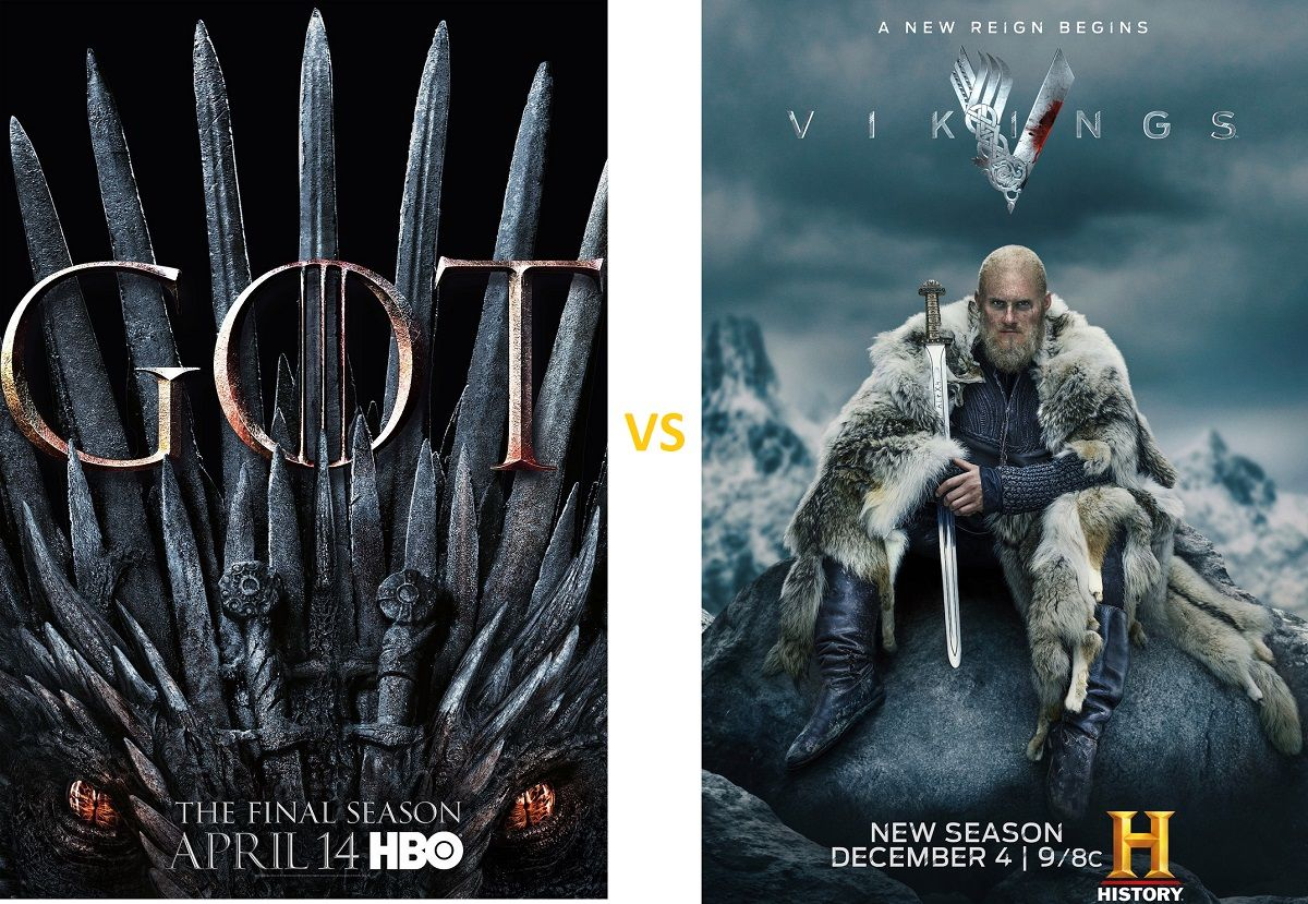 Game Of Thrones Vs Vikings Which Popular Series You Watch First