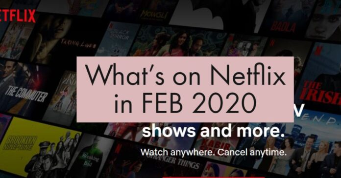 What's next on Netflix 2020