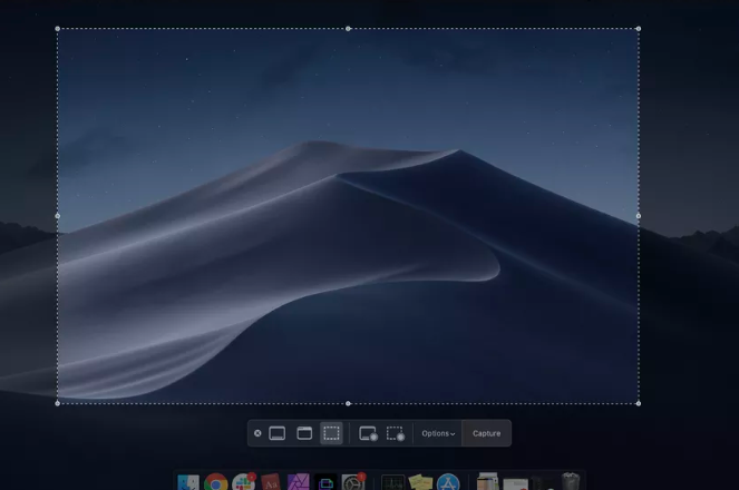 how to take print screen in mac with drag and drop