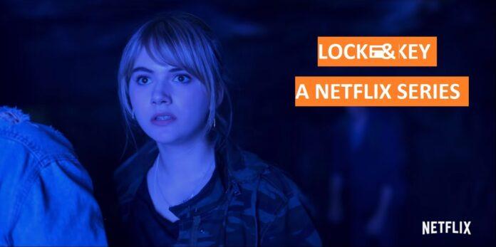 Locke & Key steaming on Netflix