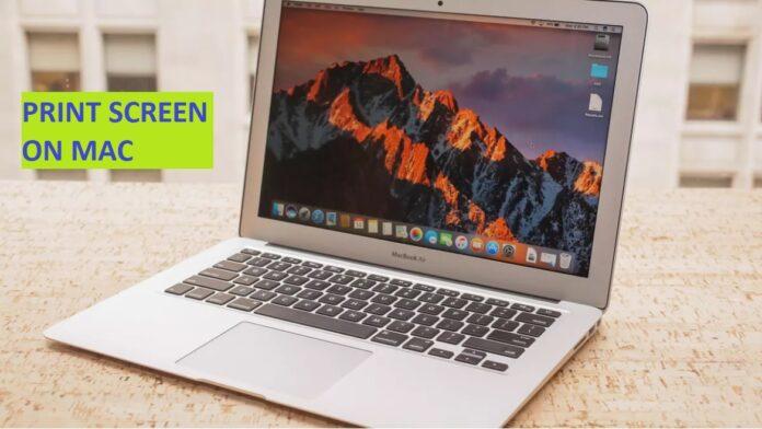 how print screen mac